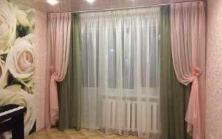 С чем должны сочетаться шторы
