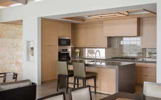 Дизайн кухни-гостиной 19 кв