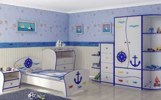 Выбираем шкаф в детскую комнату для мальчика