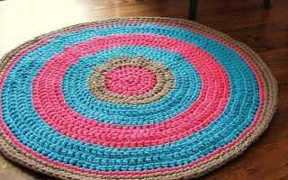 Коврик своими руками: пошаговая инструкция как сделать красивый коврик