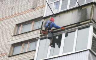 Делаем потолок на балконе