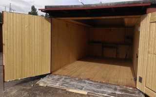 Пошаговая инструкция, как правильно сделать деревянный пол в гараже своими руками