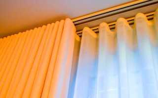 Потолочный карниз для штор и его монтаж: как крепить своими руками? Виды карнизов Фото и Видео