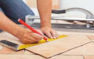 Способы качественной резки керамической плитки: подходящий инструмент, последовательность действий, советы специалистов