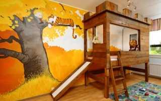 Выбираем кровать с горкой в детскую комнату
